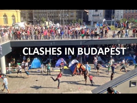 Επίθεση χούλιγκανς κατά μεταναστών στον σταθμό της Βουδαπέστης