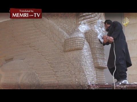 Ο ΙSIS καταστρέφει αρχαιότητες στην Μοσούλη